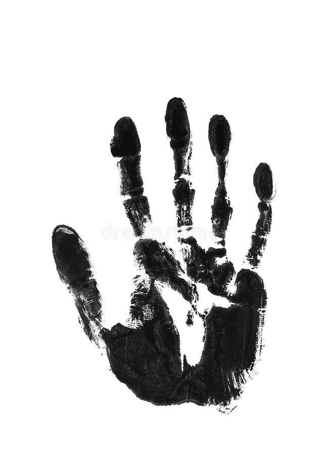 Download Impression of left hand stock illustration. Illustration of hand - 3231325