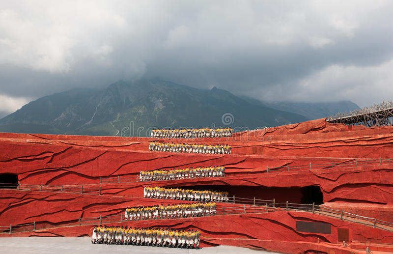 The impression of Lijiang stock images