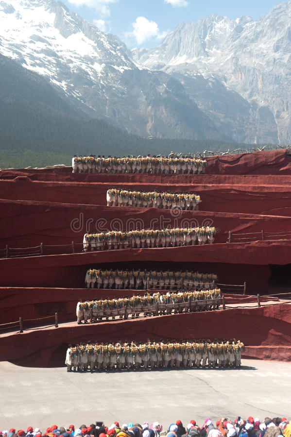 Impression Lijiang in Yunnan of China. royalty free stock photo