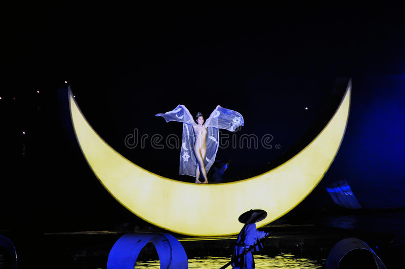 Impression Liu sanjie show royalty free stock images