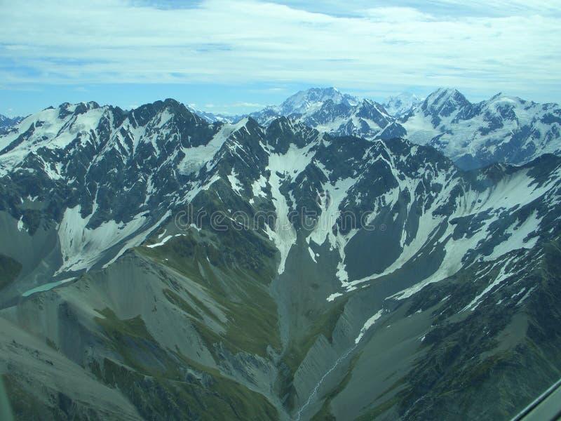 Impression méridionale 1 d'Alpes photographie stock