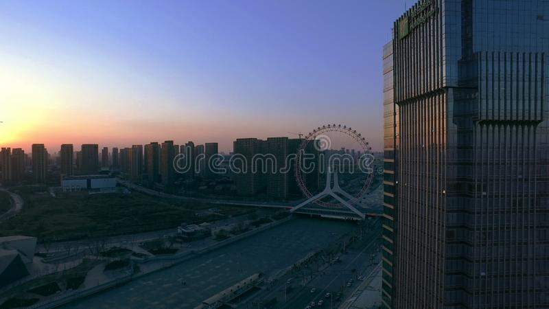 The impression of Tianjin royalty free stock images