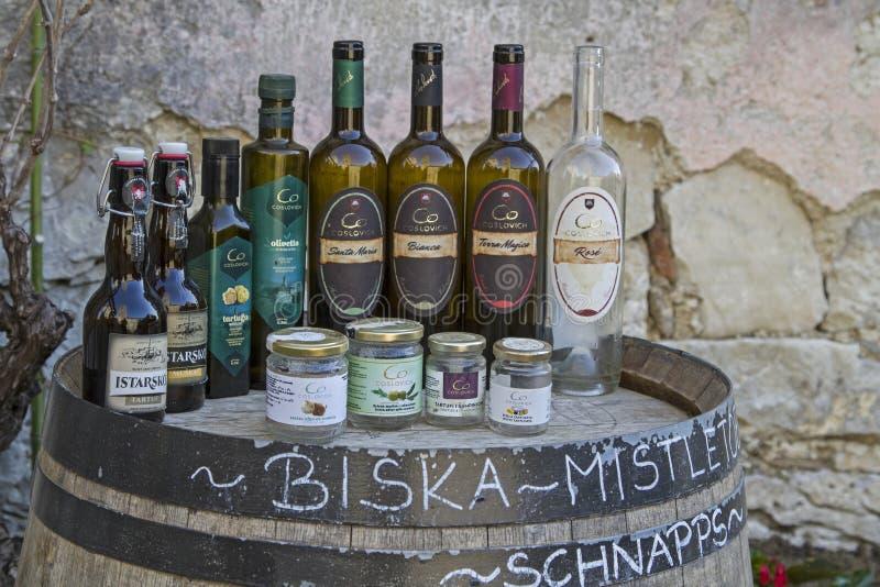 Impressioni da ronzio in Istria immagine stock
