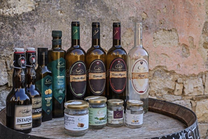 Impressioni da ronzio in Istria fotografia stock