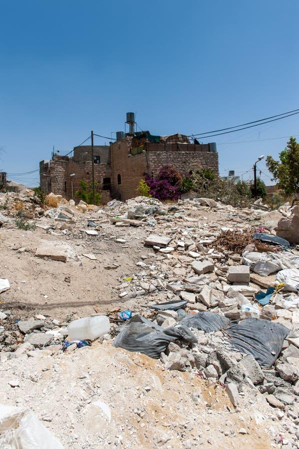 Impressioni dalla città di Hebron immagini stock libere da diritti