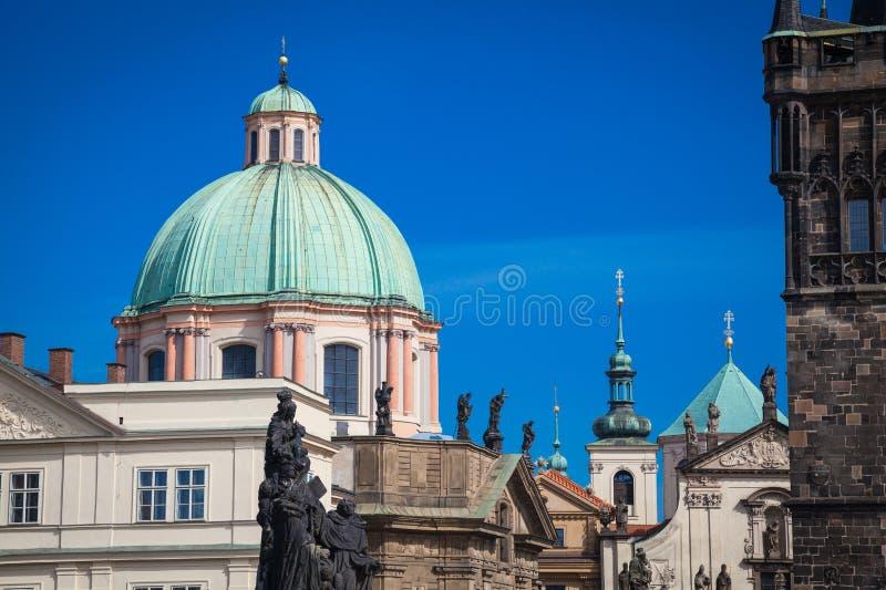 Impressions de Prague image stock