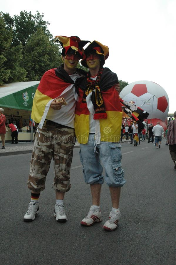 Free Impressions From The Fan Mile Fanmeile At The Football World Cup 2006 In Berlin On June 30, 2006 Before The Quarter-final Betwe Royalty Free Stock Images - 100048019