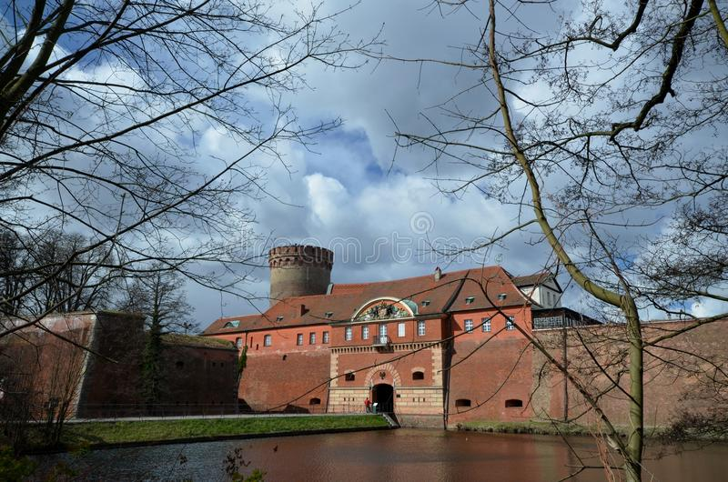 Impressions from the Spandau Citadel in Berlin, Germany. Impressions from the Spandau Citadel in Berlin, April 2, 2015, Germany stock image