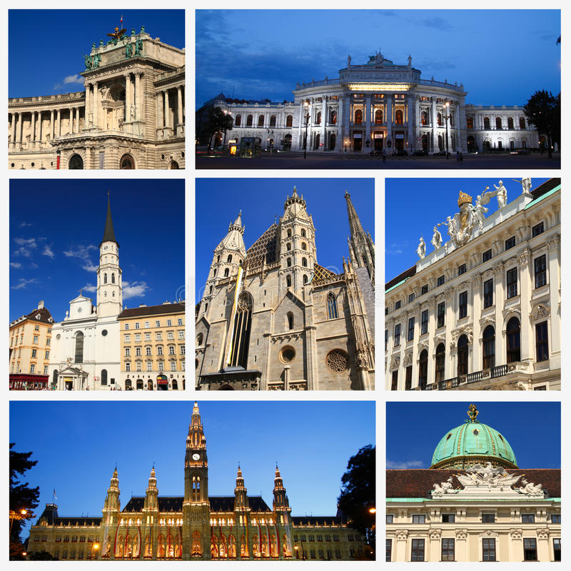 Download Impressions of Vienna stock illustration. Image of heritage - 33439330