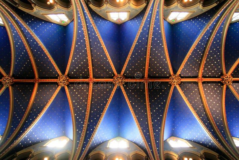 Impressive Church Ceiling stock photo