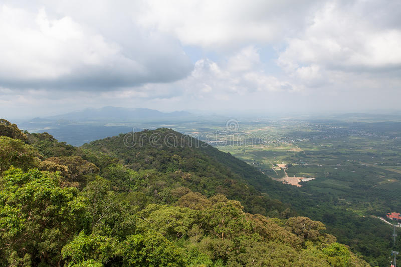 Impressive landscape, Ta Cu mountain, Vietnam royalty free stock images