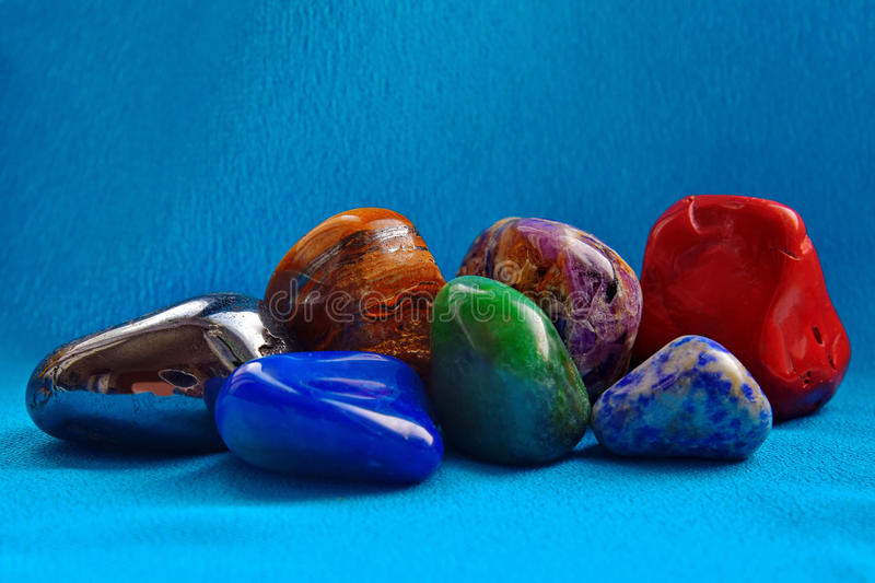 Impressive minerals of rocks royalty free stock photography