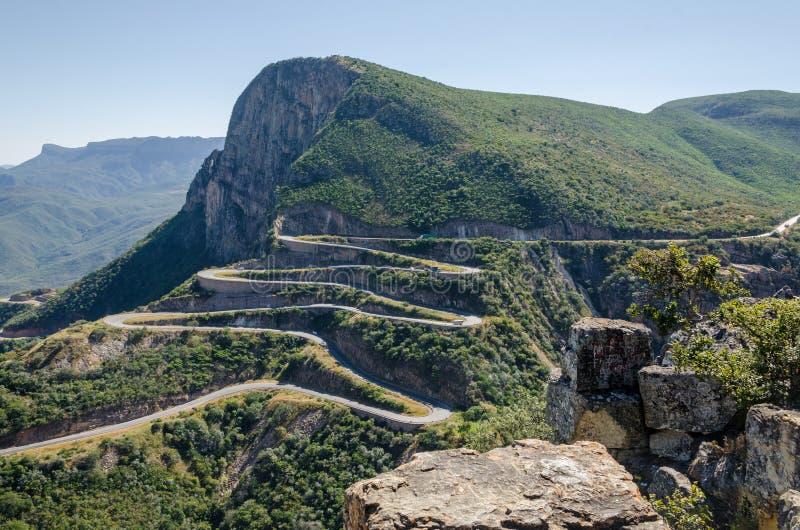 The impressive Serra da Leba pass in Angola royalty free stock photography