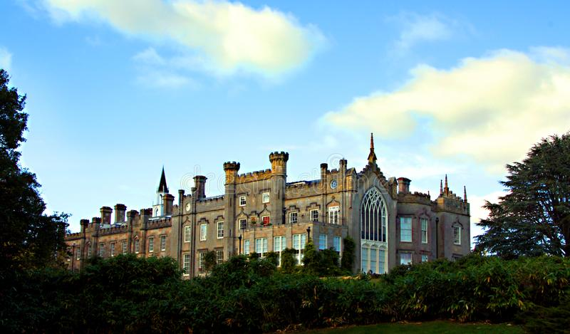 Sheffield Park house in beautiful parkland. royalty free stock photo