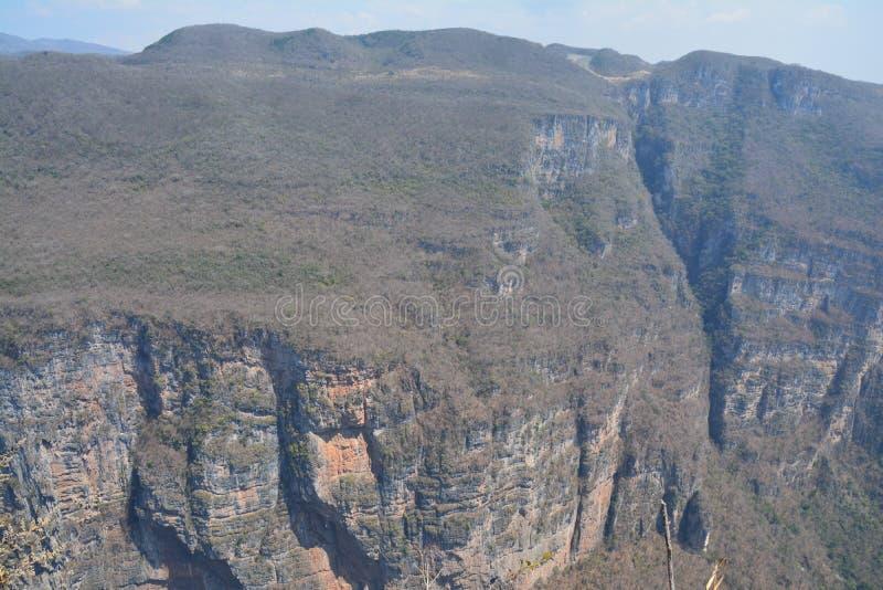 The impressive Sumidero Canyon in Chiapas Mexico stock photo