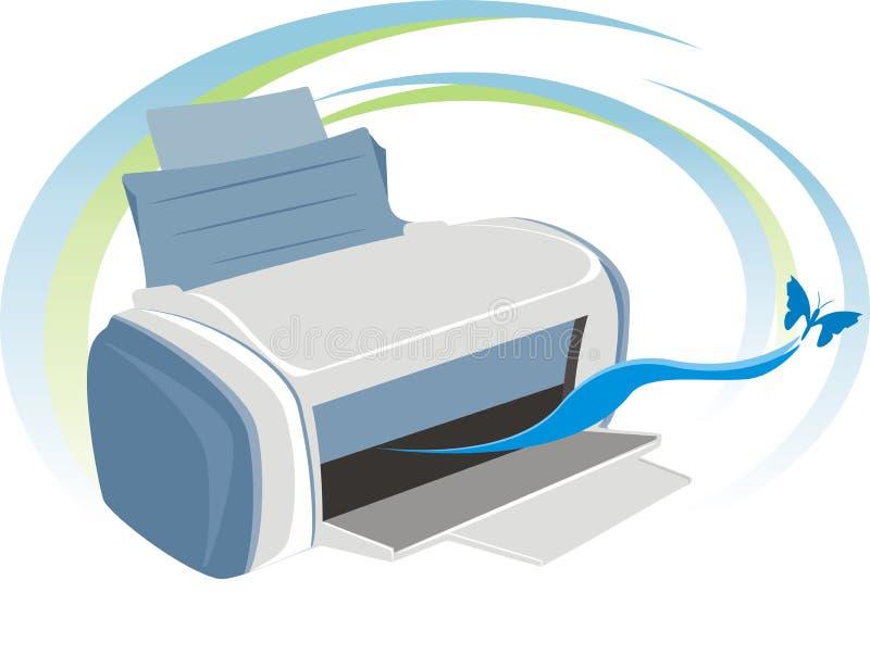 Impressora ilustração do vetor