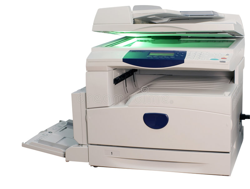 Impressora imagem de stock