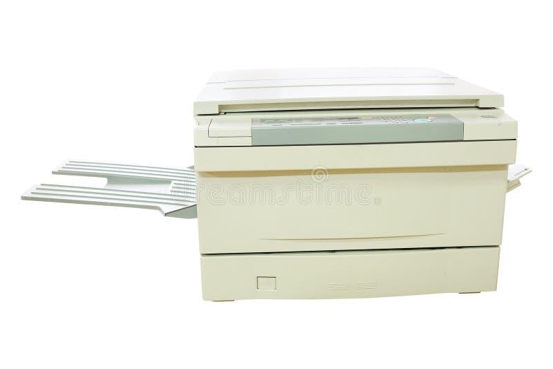 Impressora cinzenta do computador foto de stock