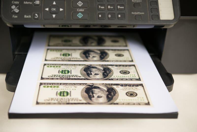 Impressora Com Moeda De Papel De RMB Imagem de Stock - Imagem de ...