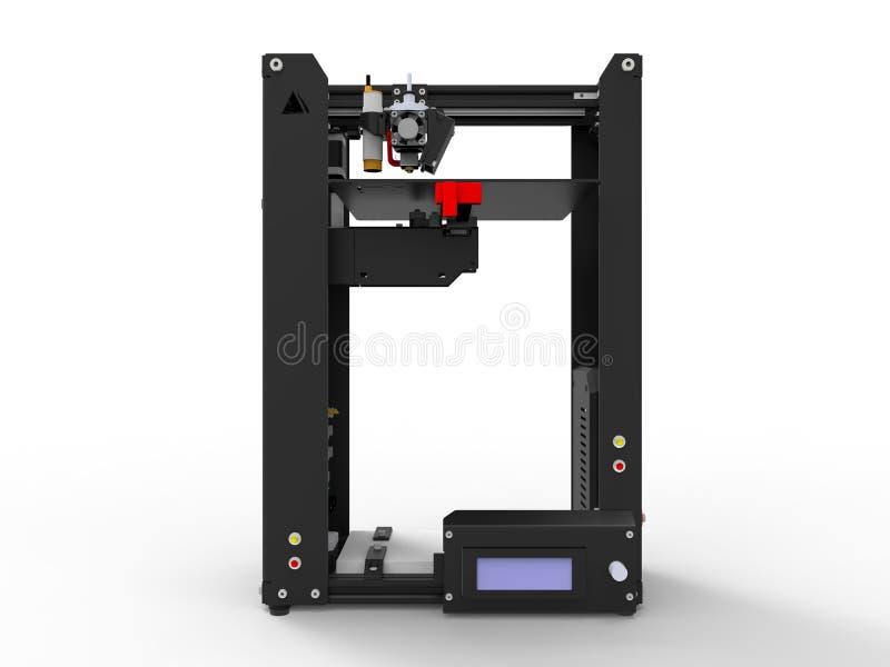 impressora 3D ilustração royalty free