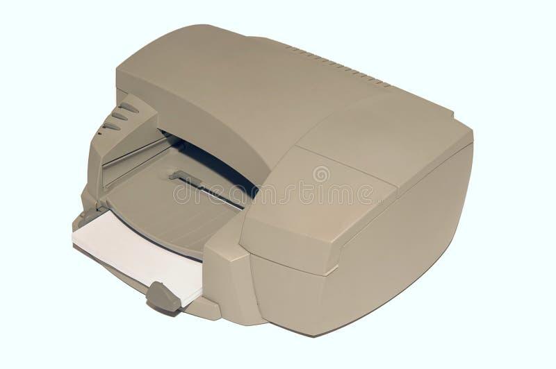 Impressora de cor do Inkjet fotografia de stock royalty free