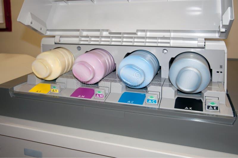 Impressora de Digitas - máquina de impressão imagem de stock royalty free