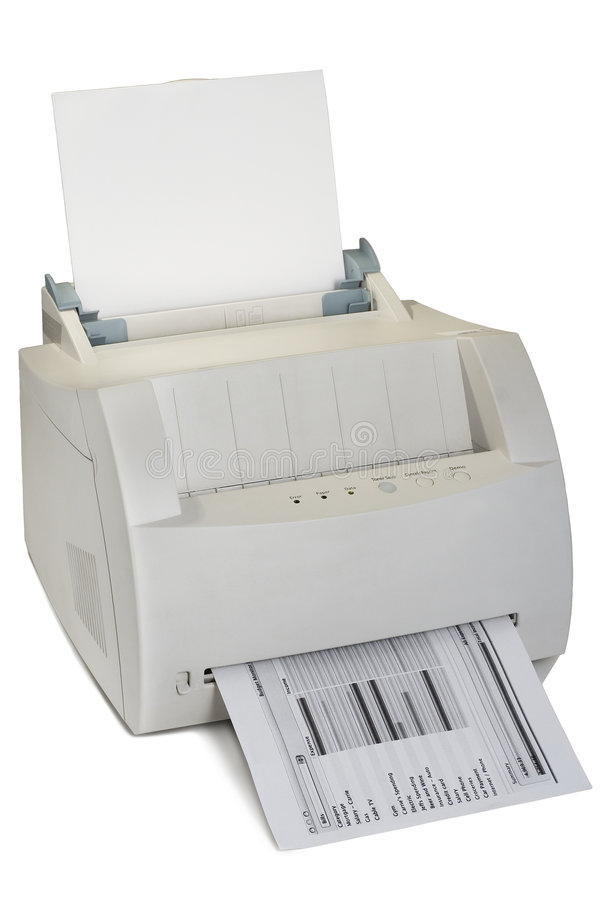 Impressora de laser imagens de stock royalty free