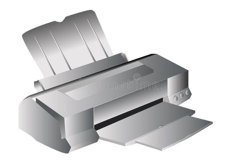 Impressora Inkjet ilustração royalty free
