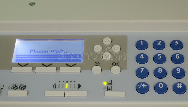Impressora Multifunction imagem de stock