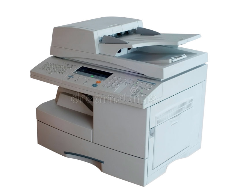 Impressora Multifunction fotografia de stock