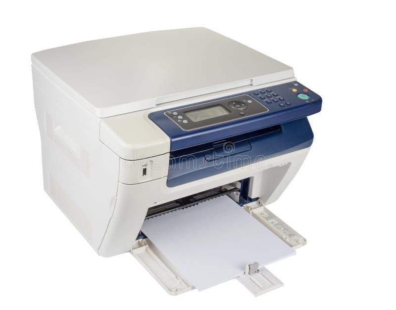 Impressora Multifunction para imprimir a exploração e o copi fotografia de stock royalty free