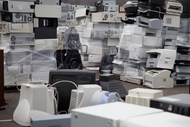 Impressoras dos computadores fotografia de stock royalty free