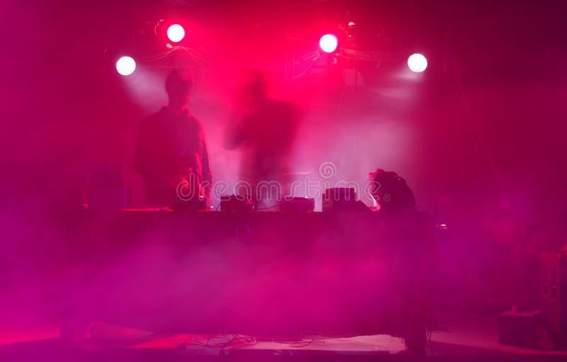impreza jest dj tańca zdjęcia royalty free