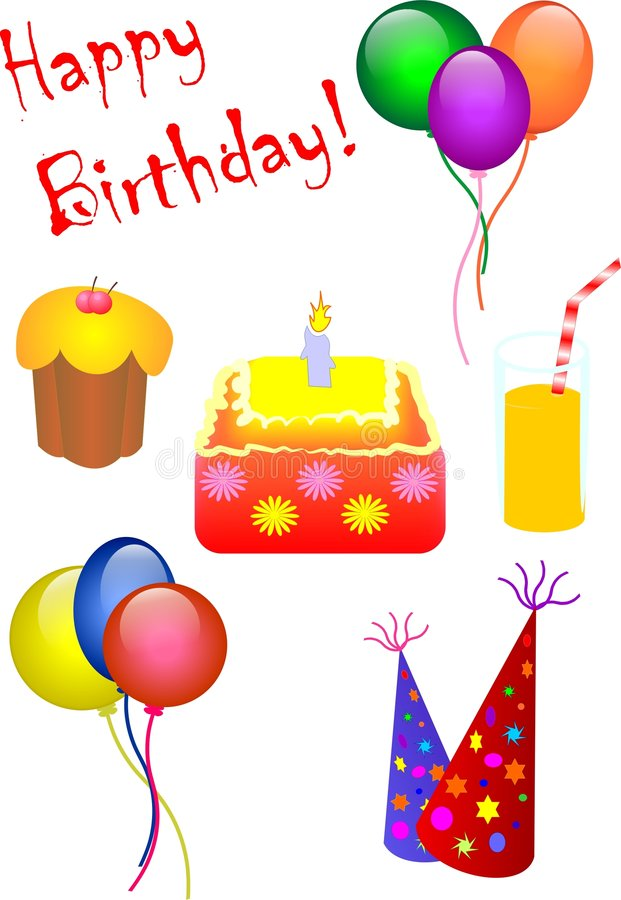 impreza urodzinowa. zdjęcie stock