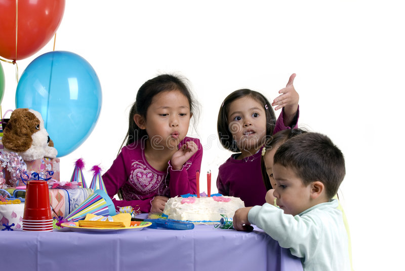 impreza urodzinowa. fotografia stock