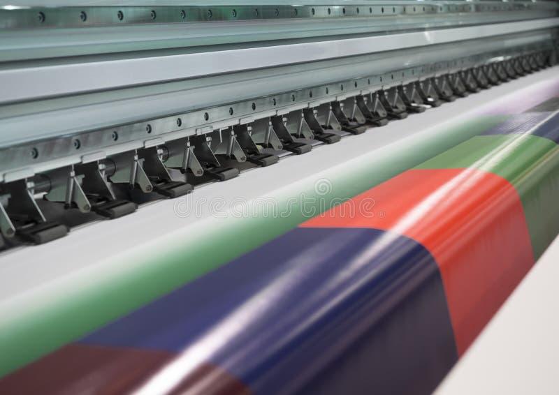 imprimante à jet d'encre de Large-format photo stock