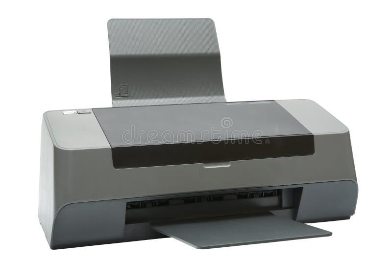 Imprimante à jet d'encre moderne image libre de droits