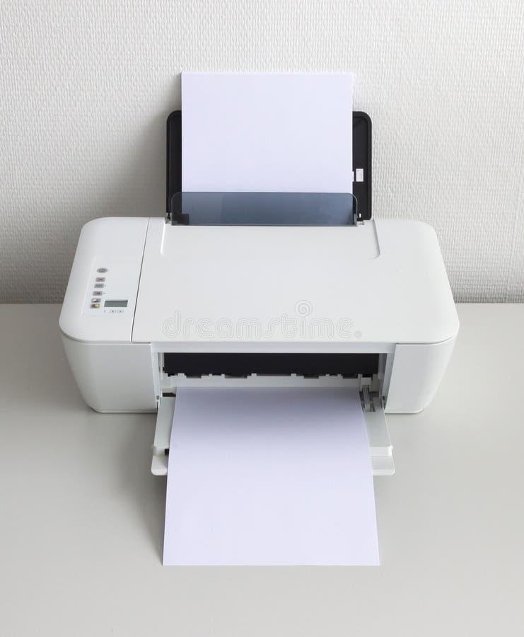 Imprimante à la maison compacte photo stock