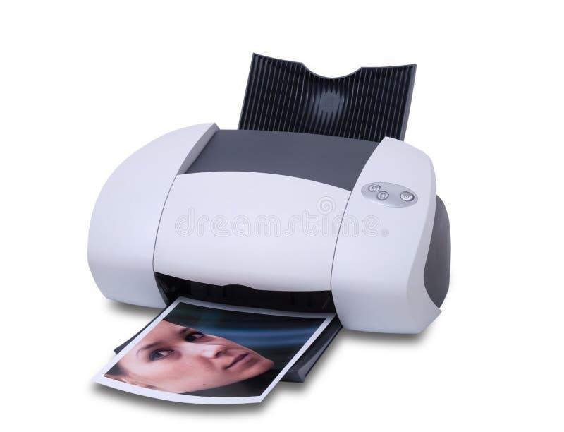imprimante photos libres de droits
