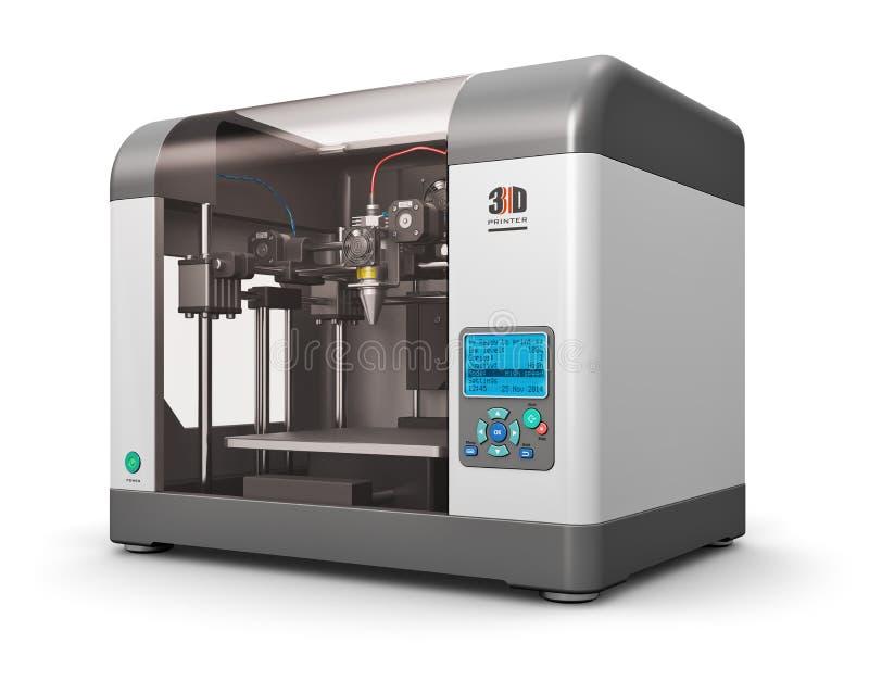 imprimante 3D illustration libre de droits