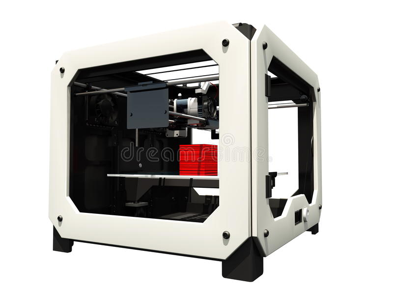 imprimante 3D photo stock