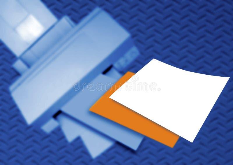 Imprimante de bureau photographie stock