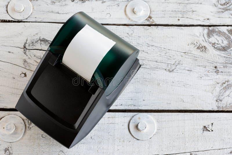Imprimante de code barres photographie stock libre de droits