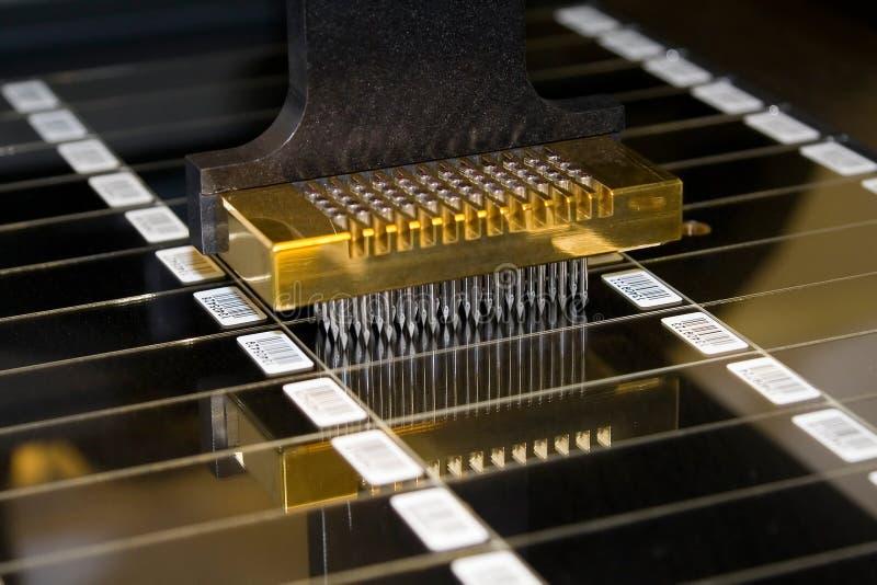 Imprimante de Microarray photo libre de droits