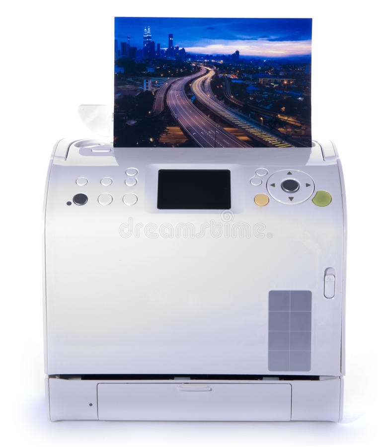 Imprimante de photo photo libre de droits