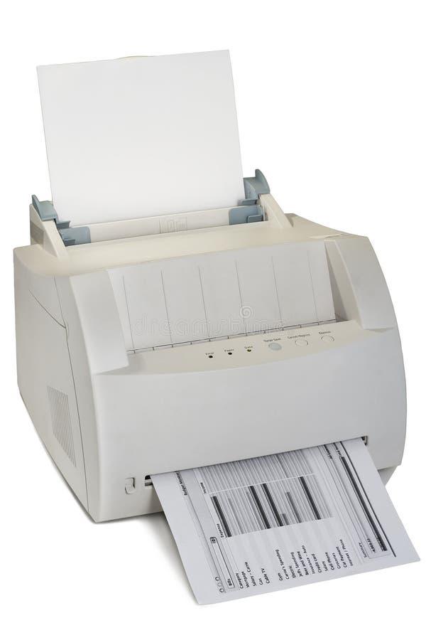 Imprimante laser images libres de droits