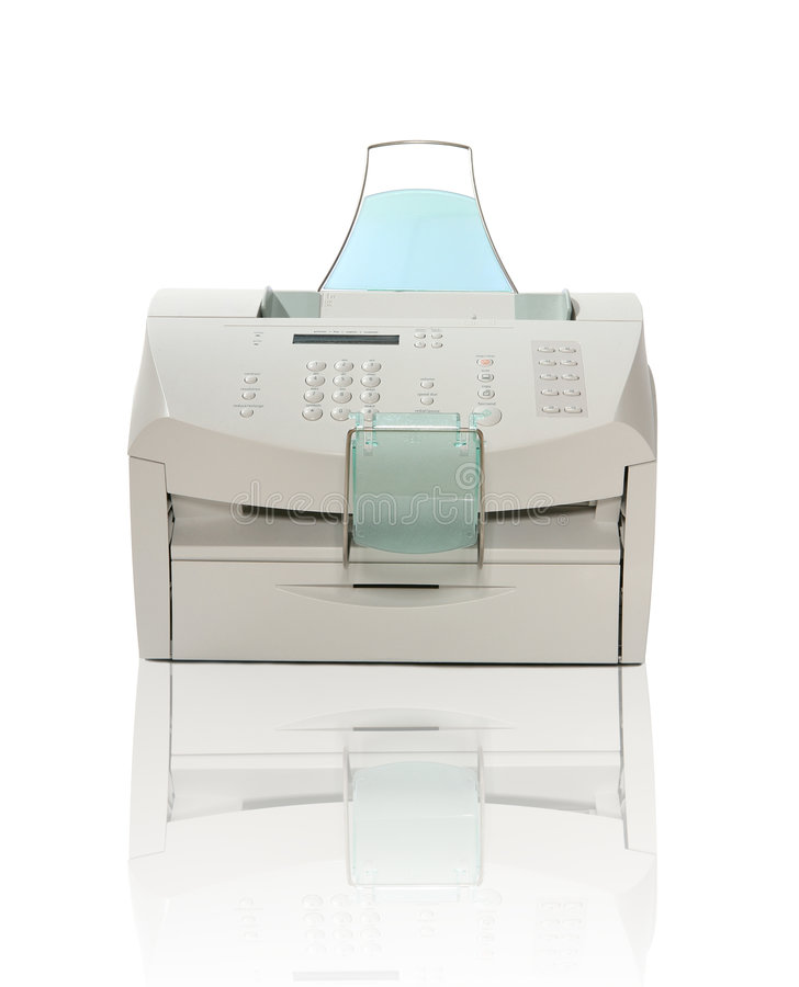 Imprimante, module de balayage, fax, et copieur image libre de droits