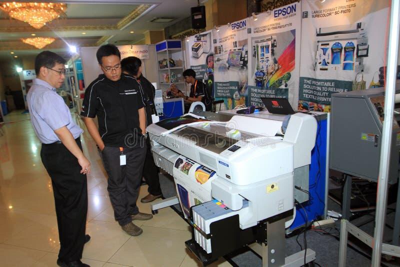 Imprimantes et conspirateurs photo stock