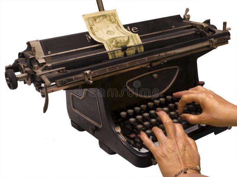 Imprimimos el dinero imagen de archivo