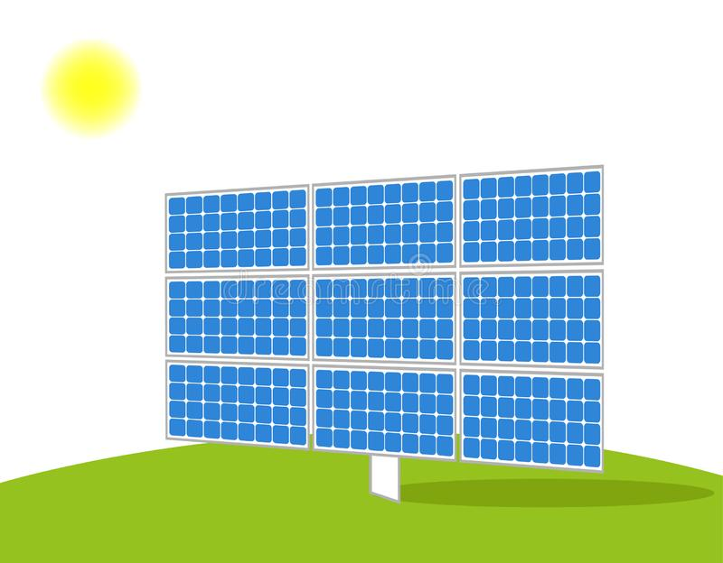 Solar Panel vector stock images